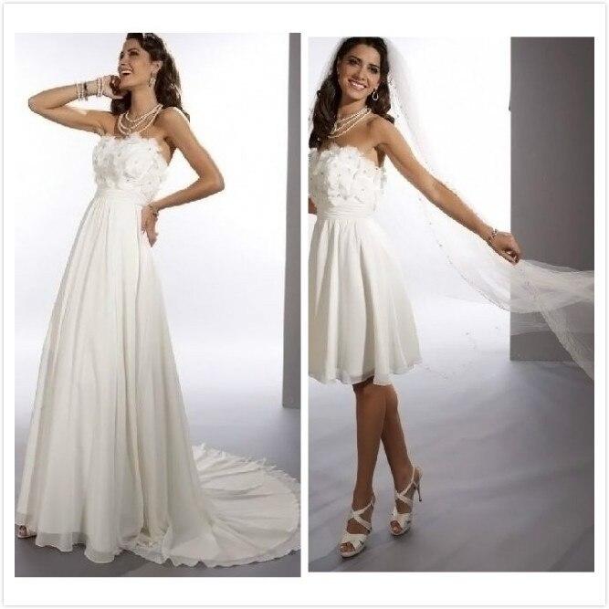 Chiffon Infinity Dress: New 2014 Free Shipping Chiffon Strapless Sheath 2 In 1