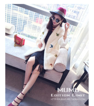 .&European star special Noble New Natural Full Pelt Mink Fur Winter Coat Women's Sleeveless Fashion All-match Knitted Mink Coat!