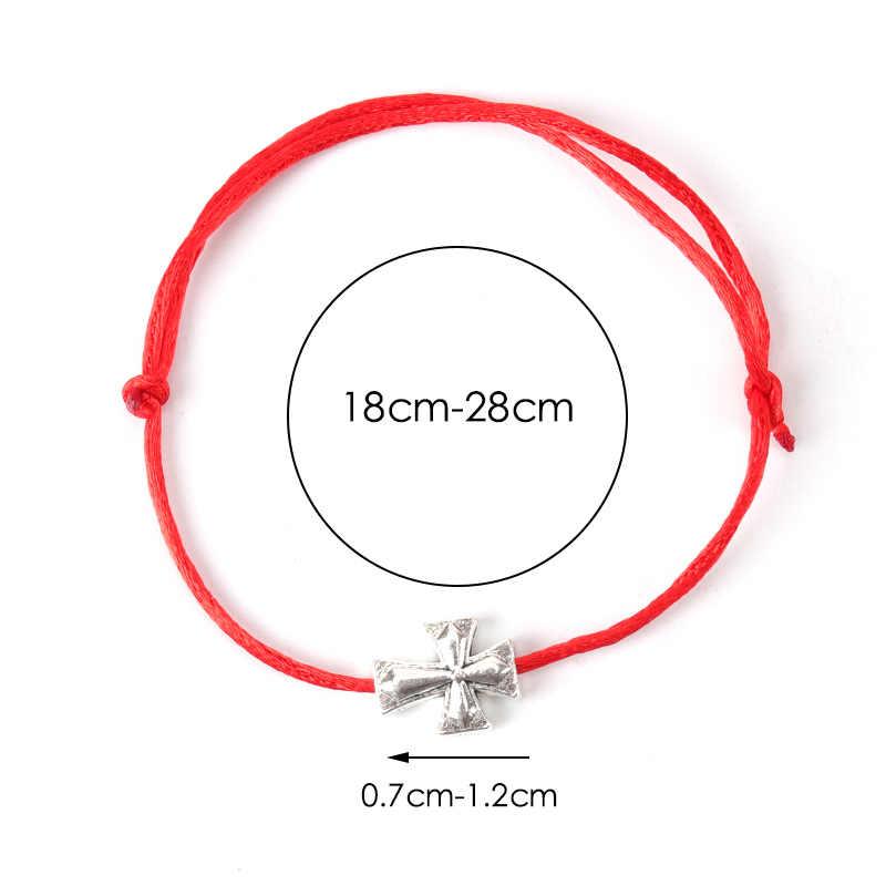 Natural fosco lava pedra ouro coração pulseira ajustável artesanal corda vermelha trança corda casal pulseiras mulheres jóias sorte
