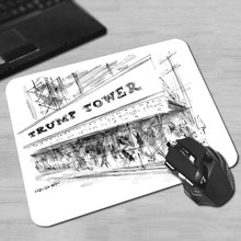 Trump Tower Gaming Mouse Pad 180x220x2mm 250x290x2mm Mat Free shipping