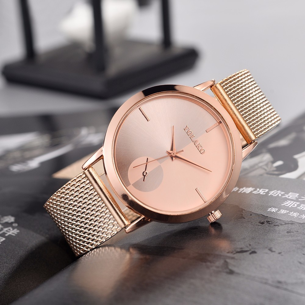 YOLAKO Women Watches Fashion Luxury Ladies Watch Wrist Watches Female Clock Relogio Feminino Reloj Mujer Clock Women 2019 Saati Наручные часы