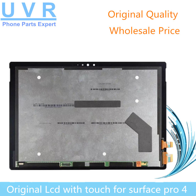 все цены на Wholesale Original Touch with lcd for Microsoft Surface Pro 4 1724 Tablet LCD display touch screen digitizer assembly онлайн