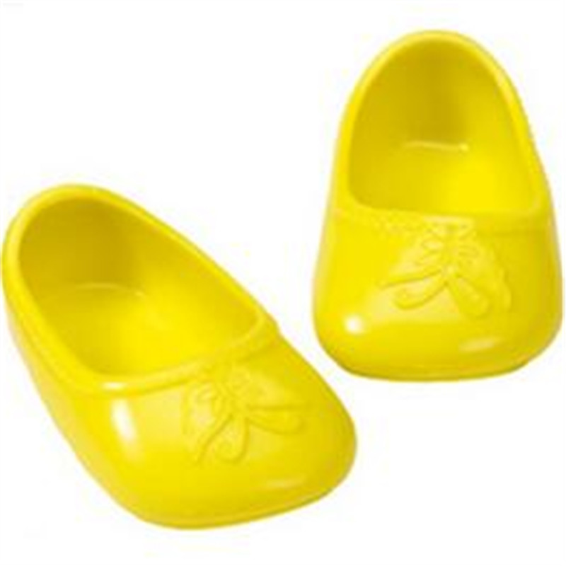 yellow doll shoes fit 43cm Baby Born zapf, Children best Birthday Gift LH127