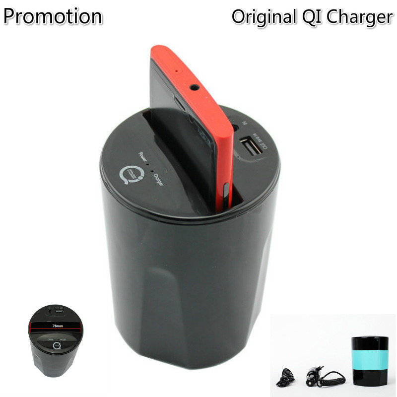 Original C3 Qi Car Charger Cup Holder universal charger