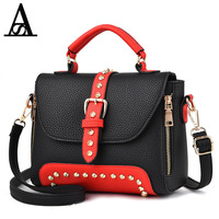 AITESEN Elegant Women Handbag Rivet Single Shoulder Crossbody Bag Michael Famous Brand Malas Luis Vuiton Package