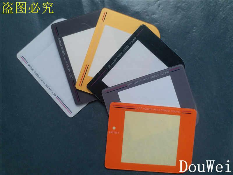 50 шт. 30 шт. 10 шт. пластиковые экранные линзы для Game Boy Multi-Цвет заменить часть Экран объектив для Nintendo GB гпоб DMG игровой консоли