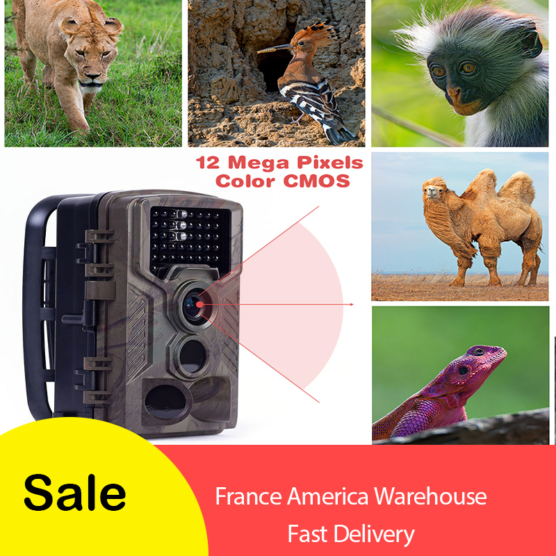<font><b>HC800M</b></font> 12MP 940nm Trail Cameras MMS GPRS GSM Hunting Camera 3g Photo Traps Game Night Vision Wildlife Camera chasse wildcamera image