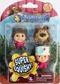 The masha and bear misha Fashems Blind Bag Madness Action Figures set.MASHEMS.Cute Style Kids PVC Toys Model Toy super squishy