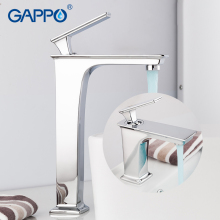 цена на GAPPO Basin Faucets waterfall faucet water taps bathroom basin mixer sink tap deck mounted mixer faucet