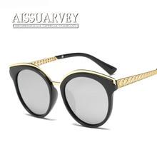 Women 2017 Fashion Polarized Sunglasses Frame Vintage Retro Eyewear Purple Ladies Glasses Goggles Mirror Lenses Eyeglasses New