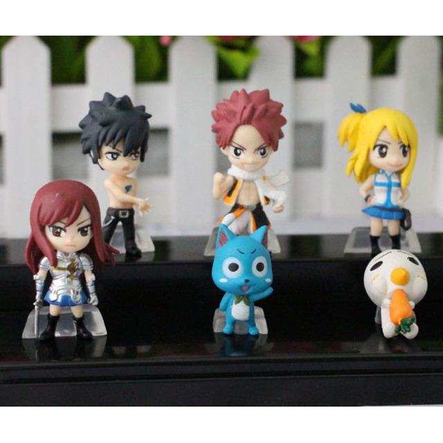 Fairy Tail  Action Figures Keychain