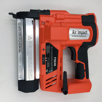 SPT1672 Electric Wireless Lithium Battery Rechargeable Nail Gun 20 50mm Brad Nail 19 40mm Staple Nail Woodworking Tool