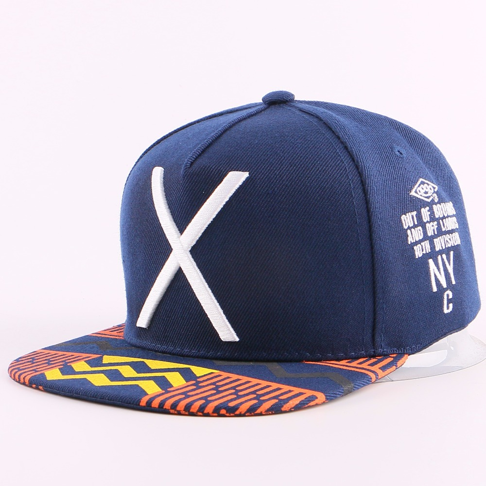 adult size unisex men women fashion casual snapback active caps navy color embroidery classic design hats wholesale new