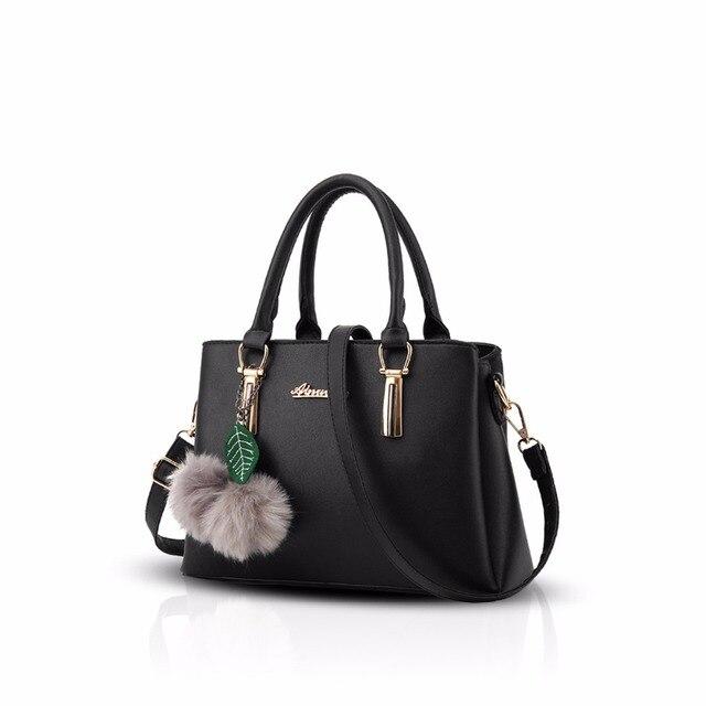 NICOLE&DORIS New Casual Women Handbag Girls Shoulder Bag Messenger Bag  Shopping Bag PU Leather
