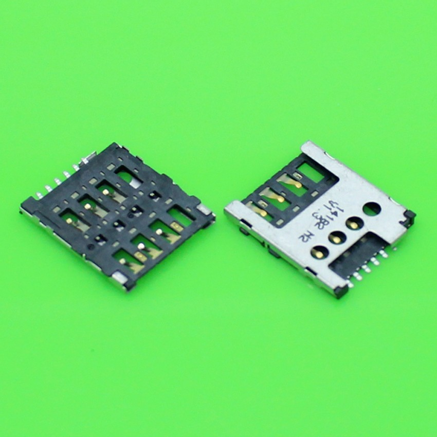 10pcs/lot SIM Card Reader Holder Tray Slot For Nokia Lumia 530 630 N530 n630 sim card reader socket