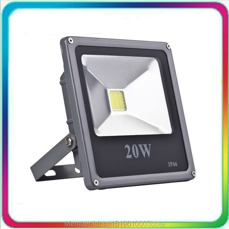10PCS Warranty 3 Years Super Bright Outdoor LED Floodlight 20W LED Flood Light Waterproof Tunnel Spotlight Bulb