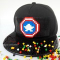 Canvas Unisex Snapback Captain America Caps Cute Cartoon Flat Sun Hats Iron Man 3D Avengers Hip Hop Hat adults Baseball Caps