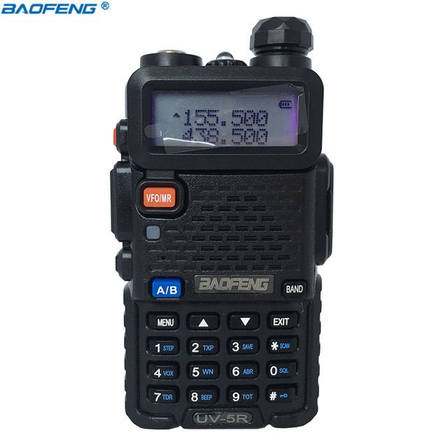BAOFENG UV-5R ham radio Dual Band Radio 136-174Mhz & 400-520Mhz Baofeng UV 5R handheld Two Way Radio
