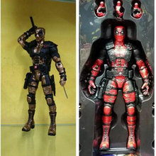 25cm Marvel Univers Super Heros Deadpool Action Figure Collection toys for christmas gift Weapons Free shipping m313