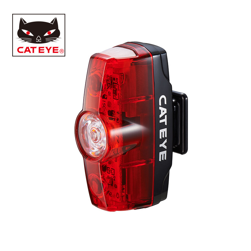 CATEYE Rapid mini Bicycle Safety Lights Cycling LED USB Rechargeable Taillight Rear Lights Bike Seatpost Tail Warning Lights