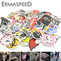 100pcs Motorcycle Stickers Mix Decal Fashion Label DIY Waterproof Graffiti for Car Truck ATV Dirt Bike Scooter Boat Luggage Logo