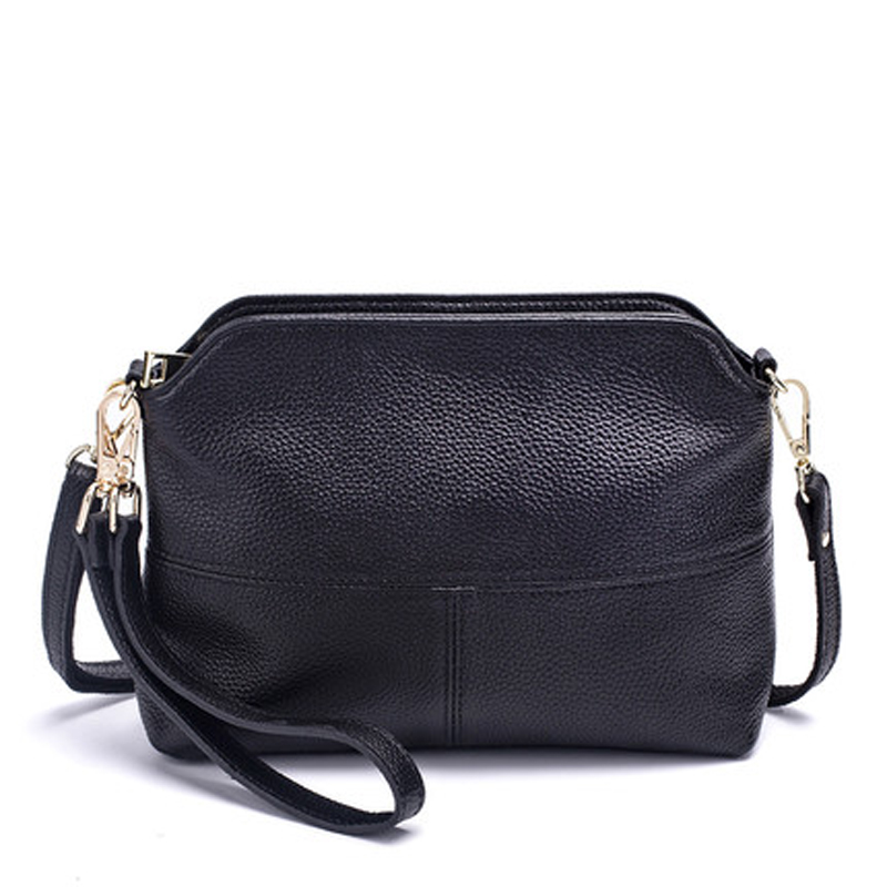 Genuine Leather Women s Clutch Bags Fashion Shoulder Bags For Woman Crossbody Bag Female Party Purse