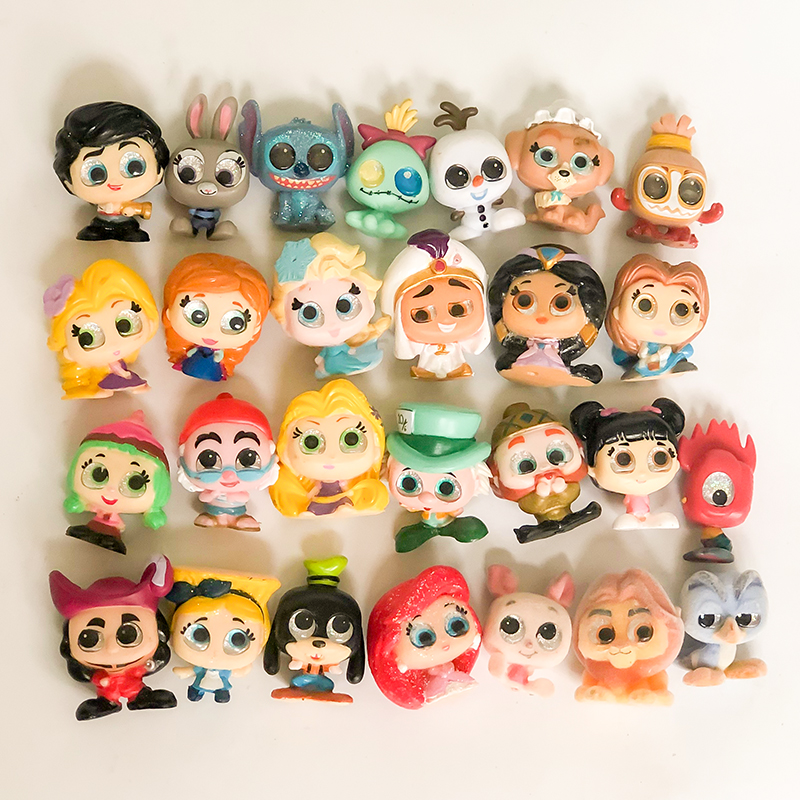 Doorables Series 1 Series 2 Princess Doll Mickey Kid Toy MINI SIZE Rare Collection Y19041801 in Dolls from Toys Hobbies
