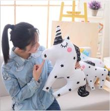 WYZHY INS comfort plush toy Unicorn pony doll pillow fox rainbow children toy doll decoration 60CM white fox whhh10 351 comfort