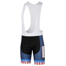 Для женщин/Для мужчин сезон: весна–лето велосипедные шорты Brief Blue звезды матчей в полоску 3D защиты Подушка Индивидуальные/ Услуги