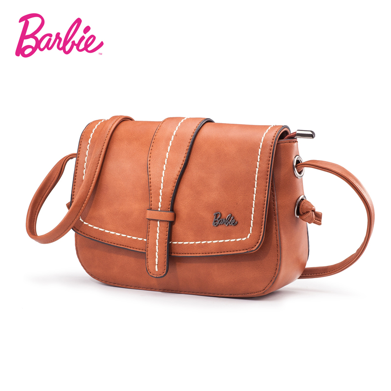 2018 new Barbie Women Shoulder Bag small Flap handbags Women Fashion Bags Delicate Cross body Bags red color Vintage series twenty four women brand flap bags natural genuine leather handbags with chain solid color cover small bags young cross body bags
