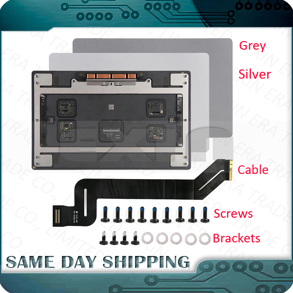 font b Laptop b font Space Gray Grey Silver Color A1707 Force Touchpad Trackpad for