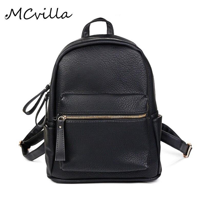 2017 Women PU Leather Backpack children backpack mini backpack women s cute back pack backpacks for