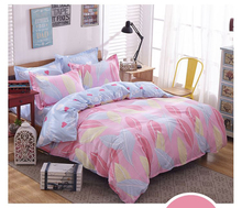 Letter Printing Bedding Sets Duvet Cover Set bed Linen RU USA Size,Quilt cover sheet set bedding duvet white black