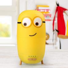 Mini Minions Capsule Aroma Diffuser Ultrasonic Air Humidifier Eletric Essential Oil Aromatherapy with Night Light