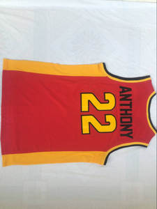 VIVA VILLA High School Basketball Jersey Throwback Men s jersey Carmelo  Anthony 1427e9509