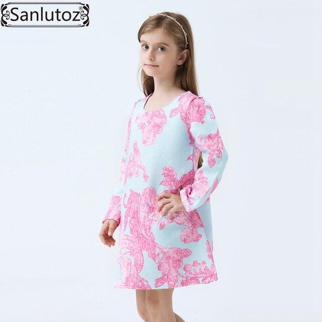Madchen Kleid Winter Blumenkinder Kleidung Marke Kinder Kleidung Fur