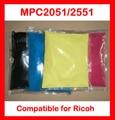 Pó de toner de cor compatível Ricoh MPC2051 MPC2551 MP C2051 C2551 2051 2551