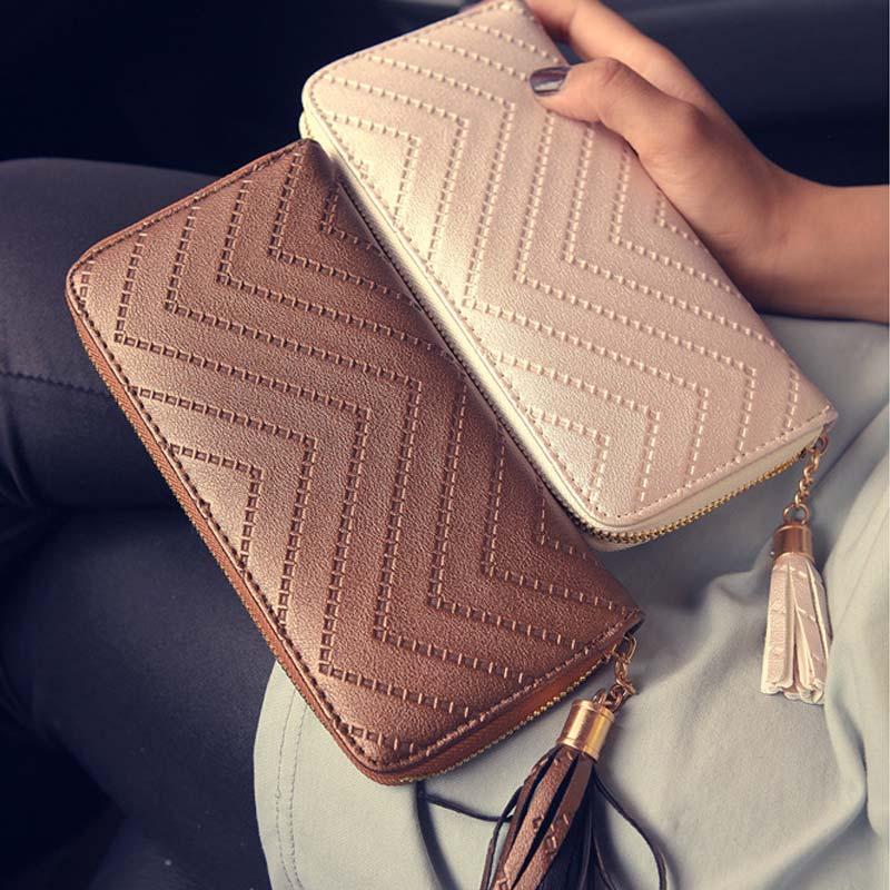 sólida borla padrão de onda Composição : PU Leather