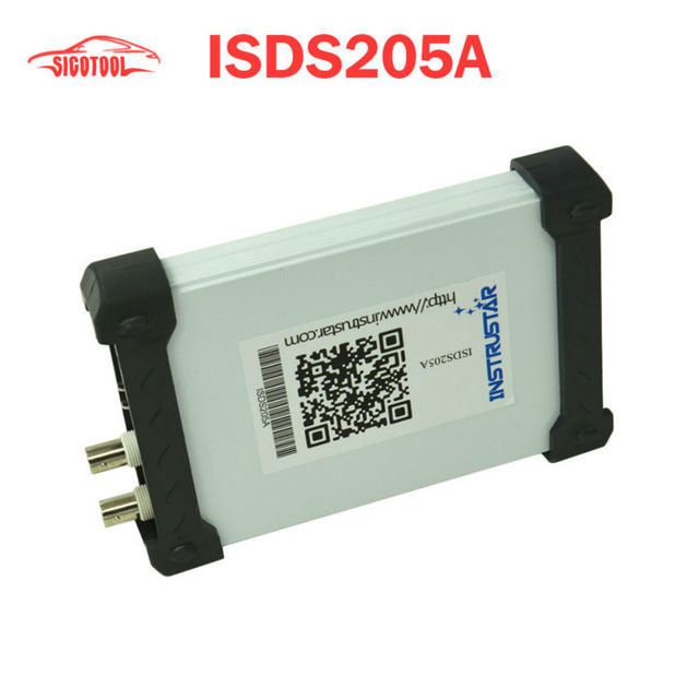 ISDS205A PC Based USB Oscilloscope 2CH 20MHz 48MSa/s FFT Analyzer Data Logger  US $59.99 /