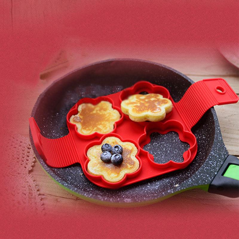 Pancake Maker Non Stick Nonstick Pancake Egg Ring Maker Kitchen Nonstick Pancake Silicon kitchen tools