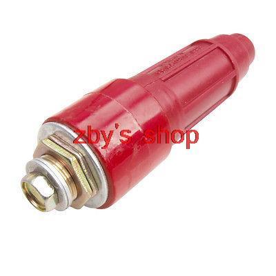 250-315A connecteur de câble de soudage prise commune rouge DKJ-50