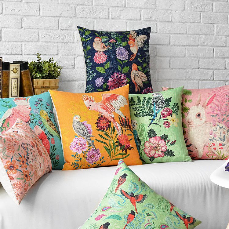 Superb Us 5 31 22 Off Birds Flowers Nature Feeling Beauty Living Throw Massager Decorative Vintage Pillows Emoji Pillow Cover Home Decor Gift Casee In Forskolin Free Trial Chair Design Images Forskolin Free Trialorg