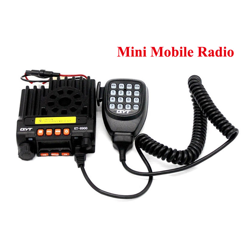 Mini voiture Radio Mobile QYT KT8900 Cb émetteur-récepteur Radio double bande 136-174 et 400-480 MHz
