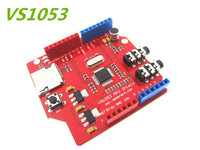 Free Shipping VS1053 MP3 Recording Module Development Board On Board Recording Function For Arduino Uno R3