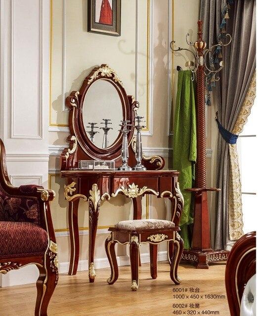 Europeenne Style Coiffeuse Un Petit Appartement Une Petite Piece