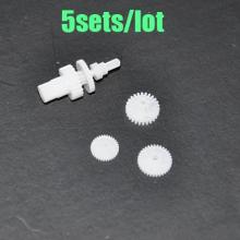 Free Shipping 5sets Servo gear Main gear for Walkera V120D02S M120D01 V120D02 V1