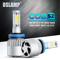 Oslamp Hi Lo Beam Single Beam COB H4 H7 H11 H13 9005 HB3 9006 HB4 72W