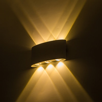 Up down led wall lamp waterproof IP65 wall light led 6W bedroom lights wall sconce indoor/outdoor lighting porch led