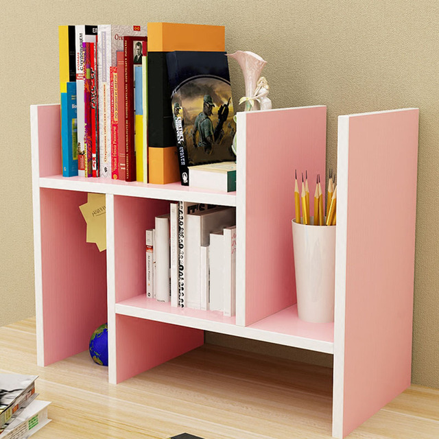 Dormitory Desktop Bookshelf Dorm Room Storage Multi Layers Small Kitchen Accessories Wood