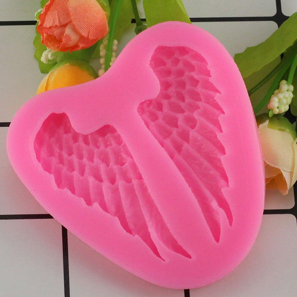 3D Moule gâteau Moule en Silicone Bébé Ange Silicone Moules Fondant Pâtisserie Décoration